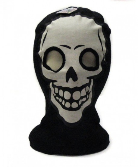 White Skeleton Face Ski Mask Gothic Beanie Hat - CU117S1F2HR