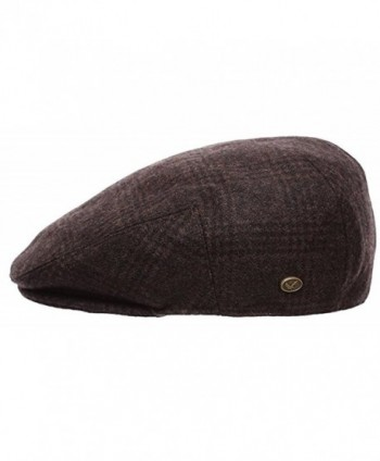 Premium Classic Newsboy Collection 1930 Brown in Men's Newsboy Caps
