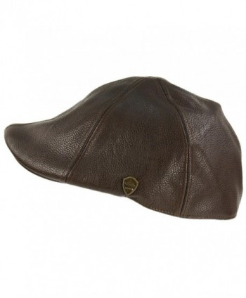 Winter Leather Duckbill Driver Hat