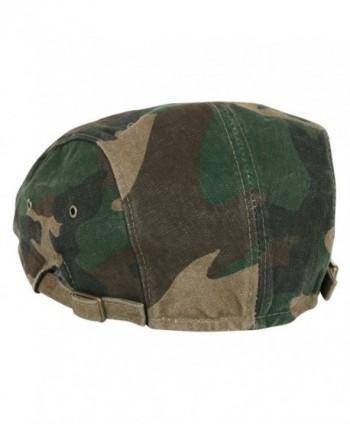 ililily Camouflage Pattern Newsboy flatcap_556_1