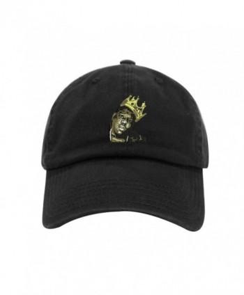 Biggie Dad Hat Cotton Baseball Cap Polo Style Low Profile 12 Colors - Black - CG1868CE854