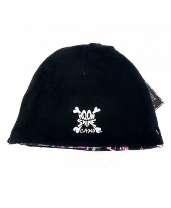 Moonshine Camo Western Reversible toboggan in Men's Baseball Caps