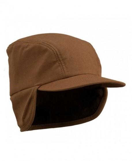 Duck Work Earflap Cap - Brown W28S38E - C1113RDIUR9