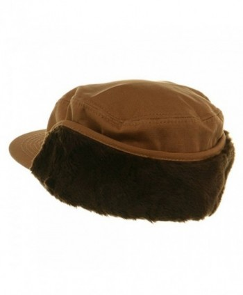 Duck Work Earflap Cap Brown