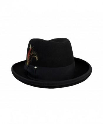 Godfather Fedora Hat Black XLarge
