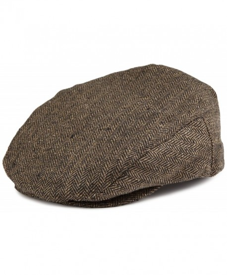 Brixton The Hooligan Hat in Brown - CB115XH38PL