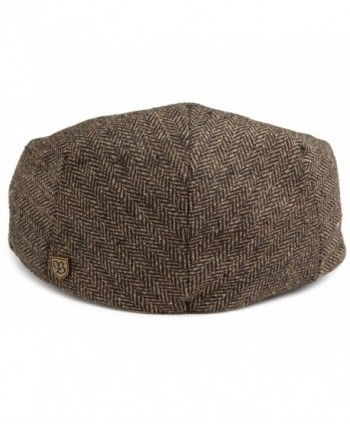 Brixton Hooligan Hat Large Brown