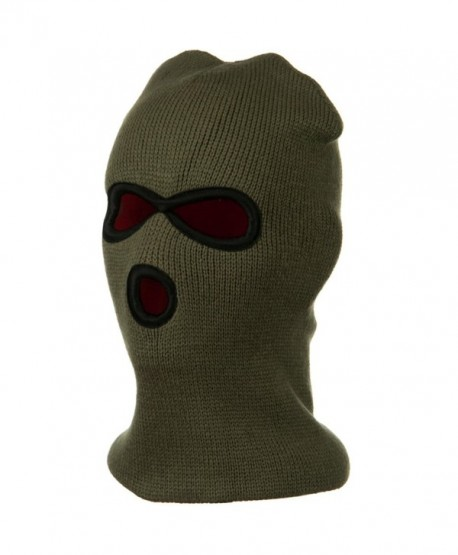 Heavy Weight Reversible Ski Mask - Olive W10S09E - C7110PMXNWR