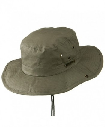 Extra Size Brushed Twill Aussie in Men's Sun Hats