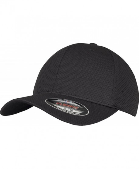 Flexfit 3D Hexagon Jersey Cap - Black - CF187264LWZ