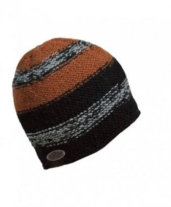 Turtle Fur Men's Nepal Jackson- Artisan Hand Knit Wool Beanie - Black - C311K5POLO3