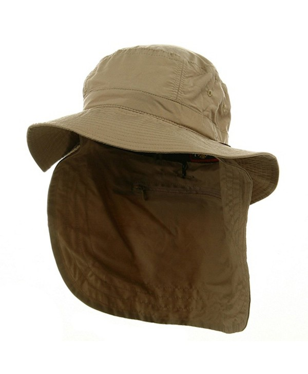 UV 45+ Extreme Vacationer Flap Hat-Khaki w16s49e - CK111C75BIN