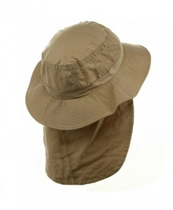 UV Extreme Vacationer Flap Hat Khaki in Men's Sun Hats