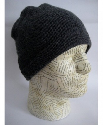 Frost Hats Luxurious Cashmere Charcoal