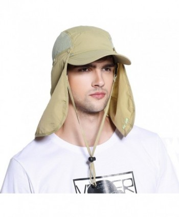 Protection Outdoor Multifunctional Removable Shield in Men's Sun Hats
