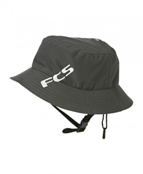 FCS Wet Bucket Surf Hat - Gun Metal color - Medium - CX1130UVH83