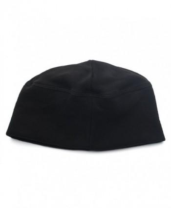 Opromo Fleece Lightweight Winter Cap Black in Men's Skullies & Beanies