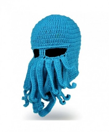 Alohaa Christmas Beanie Octopus Windproof