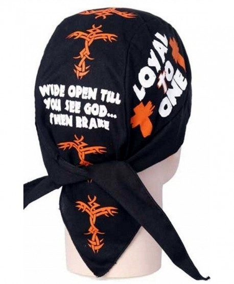 Skull Cap Biker Caps Headwraps Doo Rags - Loyal To One - CC12ELHMHG9