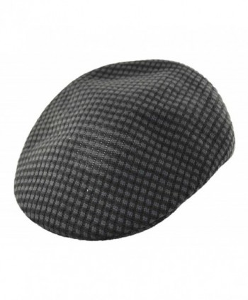Stacy Adams Men's Stripe Poly Knit Ivy Hat Cap - CM11WLNLFV9