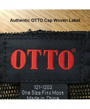 Otto Polyester Front Panel Trucker