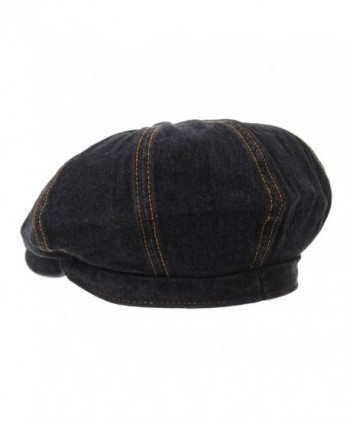 WITHMOONS Denim Cotton newsboy KR3613 in Men's Newsboy Caps
