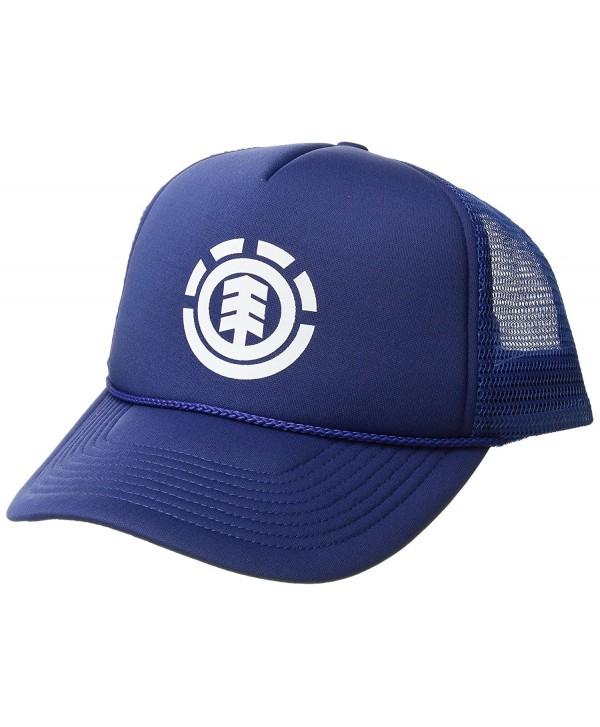 Element Men's Trucker Mesh Adjustable Hats - S Line Trucker Boise Blue - CQ182M4UX8Q