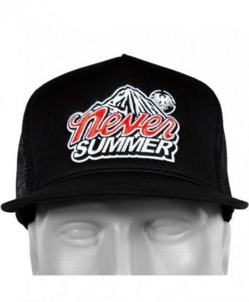 Never Summer Mountain Snapback Trucker