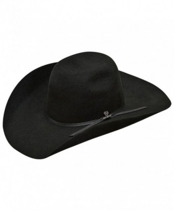 Ariat Men's Wool 2 Cord Band Hat - Black - CZ17YQSXQK7