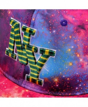 ffd44f0ac34 Available. ZLYC Starry Galaxy Sky Neon Pattern Flatbill Snapback Adjust  Baseball Cap Hat ...