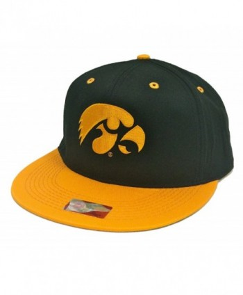 Crown Iowa Hawkeyes Black & Gold Snapback - C811LXMKXZD