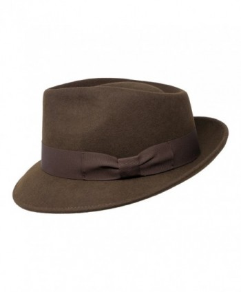Premium Doyle Teardrop Crushable Resistant in Men's Fedoras
