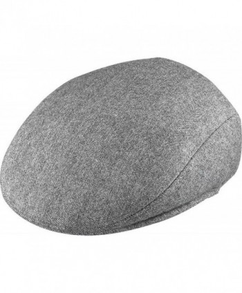 Henschel Ivy League Wool Cap - Gray - CD113EZ8G1F