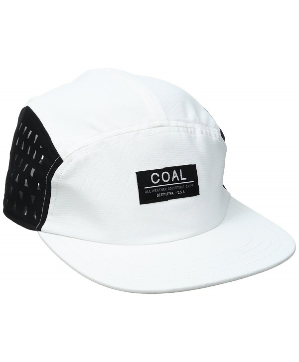 Coal Pace Athletic Hat Performance Cap - White - CY12I2X48KL