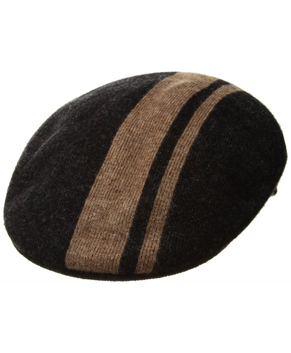 Kangol Men's Code Stripe 504 - Black/Wood - CJ17YK7LOED