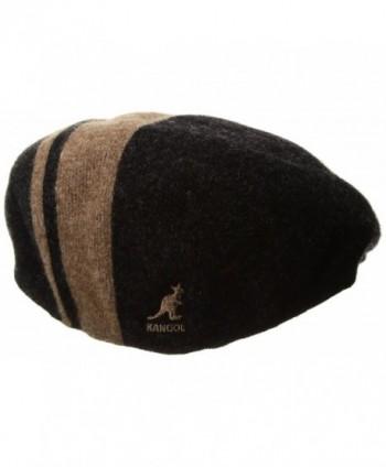 Kangol Mens Code Stripe Black
