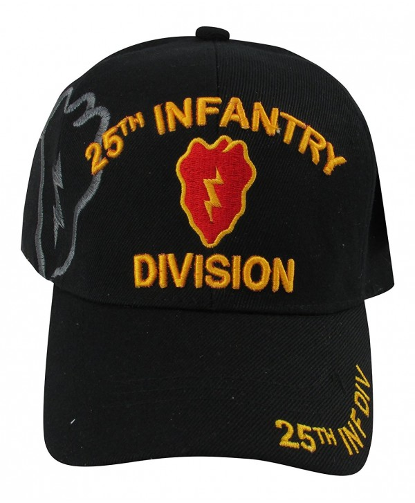 US Warriors 25th Infantry Division baseball Hat- One Size- Black - CW11MHCAPP5