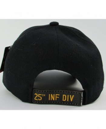 Warriors Infantry Division baseball Black in Men's Baseball Caps