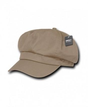 DECKY Khaki Applejack Newsboy Cabbie Gatsby Golf Driving Ivy Hat Hats Cap Caps- S / M - CQ11C2W65XH