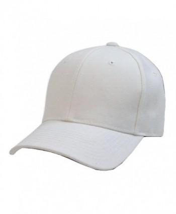 Decky Plain Solid Fitted Baseball in Men's Baseball Caps