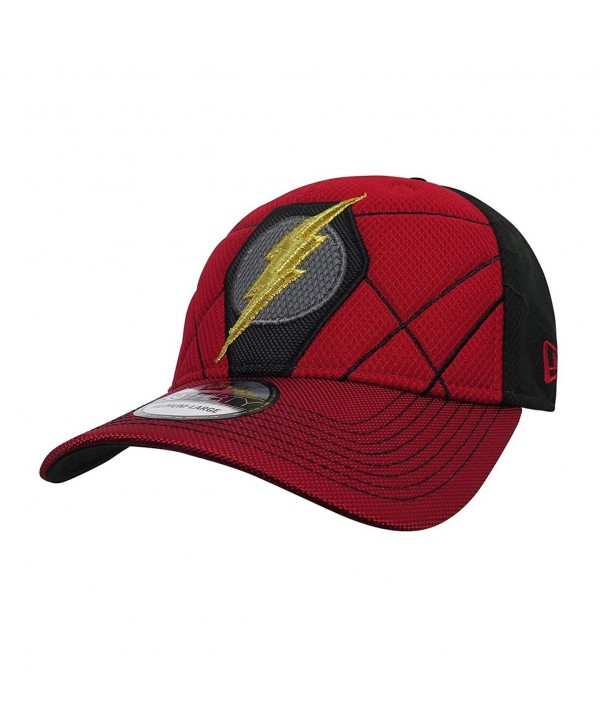 Flash Logo Justice League Armor 39Thirty Fitted New Era Hat - C9186GZELIR
