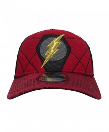 Flash Logo Justice League Armor 39Thirty Fitted New Era Hat - C9186GZELIR   Justice League 39Thirty New Era ... 400ccd7748aa