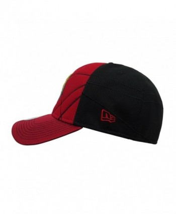 Flash Logo Justice League Armor 39Thirty Fitted Hat - C9186GZELIR 34930da48da3