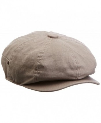 Kangol Men's Canvas Ripley Cap - Putty - CV117VKYJ7J