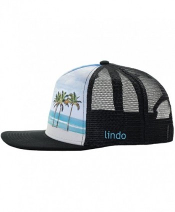 Cool Trucker Hat Beach Lindo