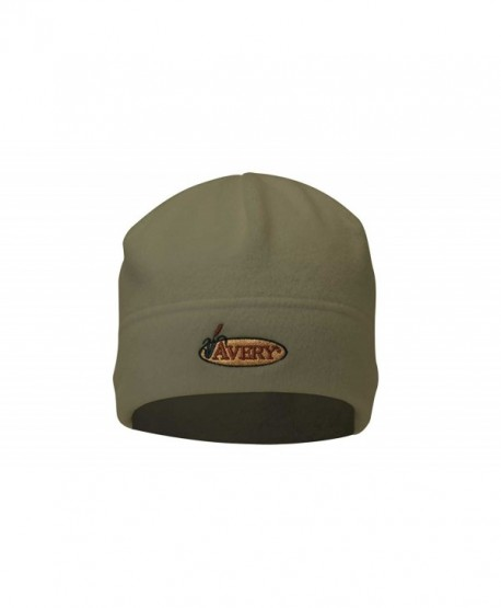 Avery Outdoors Inc 48103 Fleece Skull Cap Dark Moss - C2112DJVX8V
