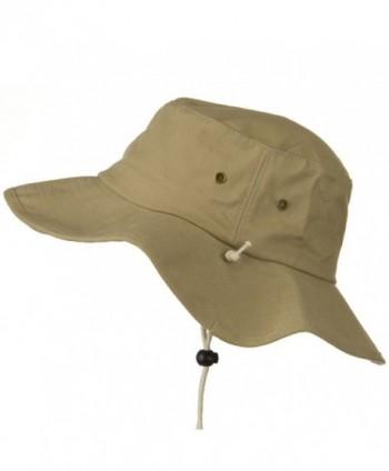 Big Size Cotton Australian Hat