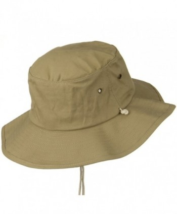 e9cb245d0a983f Big Size Cotton Australian Hat - Khaki (For Big Head) - CR110J6BAY1