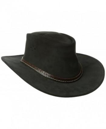 Kakadu Traders Australia Mainlander Hat - Black - CS11QT97G9L