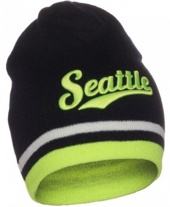 American Cities Seattle Cuffless Beanie